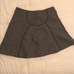 The Limited wool blend mini skirt